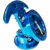 คอพวงมาลัย คอพับ Works Bell สีฟ้า