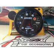 เกจวัดรอบ RPM Auto Meter LED ขาว-แดง 5นิ้ว ดีเซล