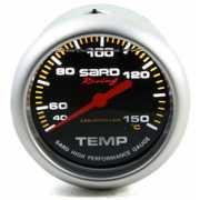 เกจ์วัดความร้อน SARD หน้าปัดน้ำมัน สีดำ 2.5นิ้ว