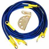 สายกราววาย Ground-wire Elevo 5เส้น สีน้ำเงิน