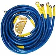 สายกราววาย Ground-wire Elevo 7เส้น สีน้ำเงิน