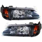 ไฟโคมเพชร-ดำ Toyota Corolla AE100