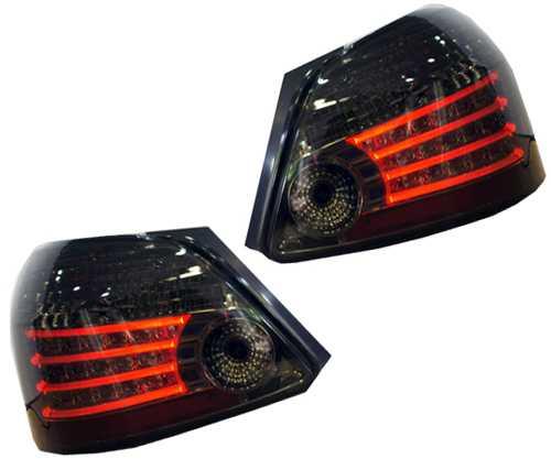 ไฟท้ายแต่ง Vios 2007-13 Smoke LED