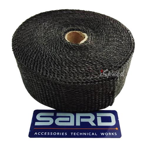 ผ้าพันท่อไอเสีย SARD ดำ 10เมตร