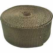 ผ้าพันท่อเฮดเดอร์ Cool IT ทนความร้อน 1200องศา สีไทเทเนียม ยาว10M