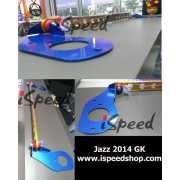 ค้ำโช๊ค Honda Jazz 2014 GK หลัง-ล่าง 2จุด อลูมิเนียม
