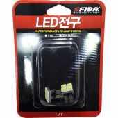 ไฟหรี่ LED 4จุด สีขาว ขั้วเสียบ T10