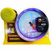 เกจวัดรอบ RPM Auto Meter หน้าขาว-อักษรฟ้า 5.0นิ้ว