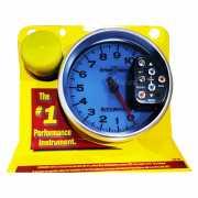 เกจวัดรอบ RPM Auto Meter หน้าขาว-อักษร7สี 5.0นิ้ว