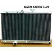 หม้อน้ำอลูมิเนียม Toyota Corolla 1992 E100 42.0mm AT