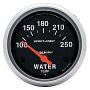เกจ์ Water-Temp AUTO-METER 2.5 นิ้ว Sport-comp ดำ
